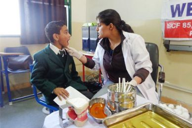 "Students Health Check up by ""Simply Health Plus"""