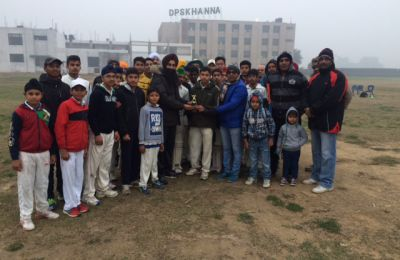 DPS organised Sports Festival for schools of the area on 24 January 2016
