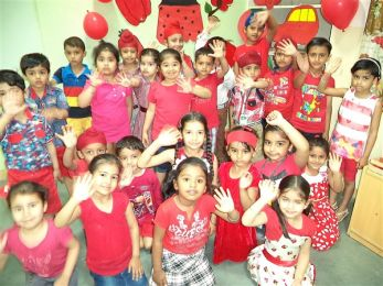 Red Color Activity