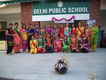 """Special Assembly was conducted on the theme """"Baisakhi & Ambedkar Jayanti"""""""