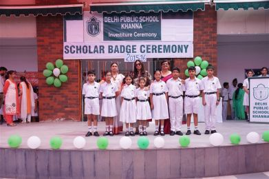 Scholar Badge Ceremony 2015-16