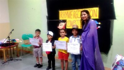 Rhyme Recitation Competition