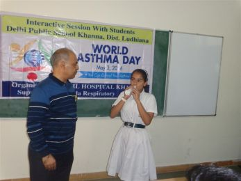 Workshop on World Asthma Day 2016