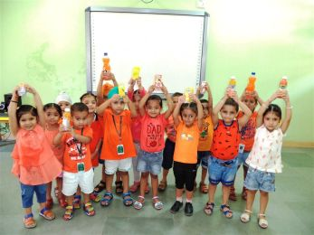 Orange Colour Day Celebration
