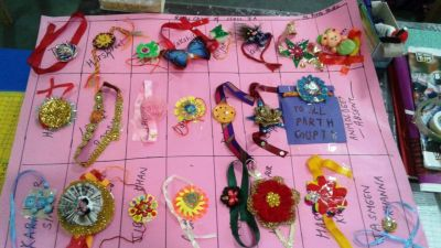Teej Festival and Rakhi Making Competition