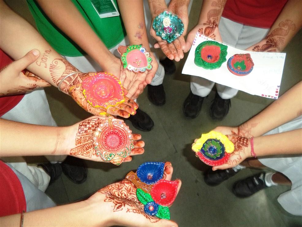 Diya Decoration Competition Dps Khanna