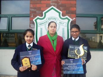 MUN Conference attended by DPS students