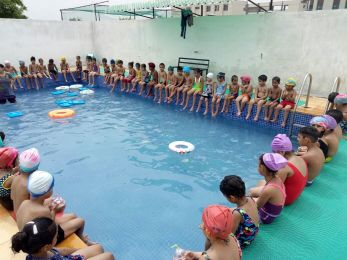 Kindergarten Pool Party