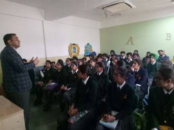 An Interactive Session for Class X Students by A.K. Vidya Mandir, Chandigarh