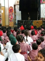 Puppet Show at DPS Khanna