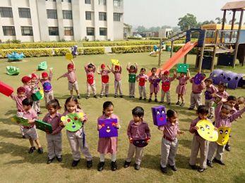 Shape Dance Party at DPS Khanna