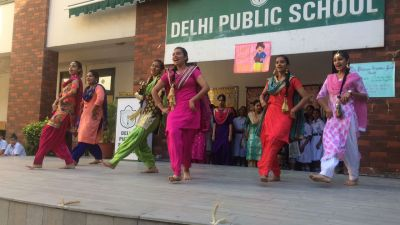 Baisakhi celebration at school