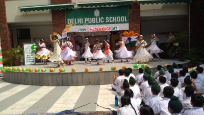 Independence Day Celebration at DPS Khanna.