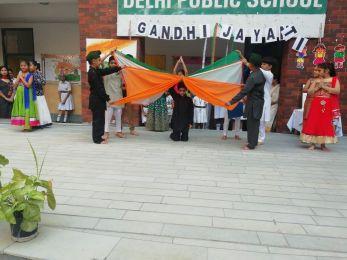 Gandhi Jayanti Celebration at DPS Khanna