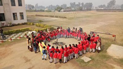 Lohri Celebration at DPS Khanna