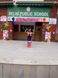 Glimpses Of Solo Dance Competition